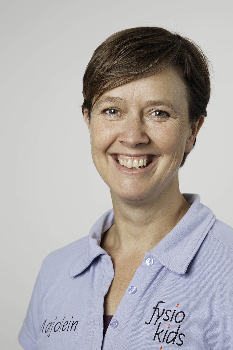 Marjolein van Velsen : Kinderfysiotherapeut